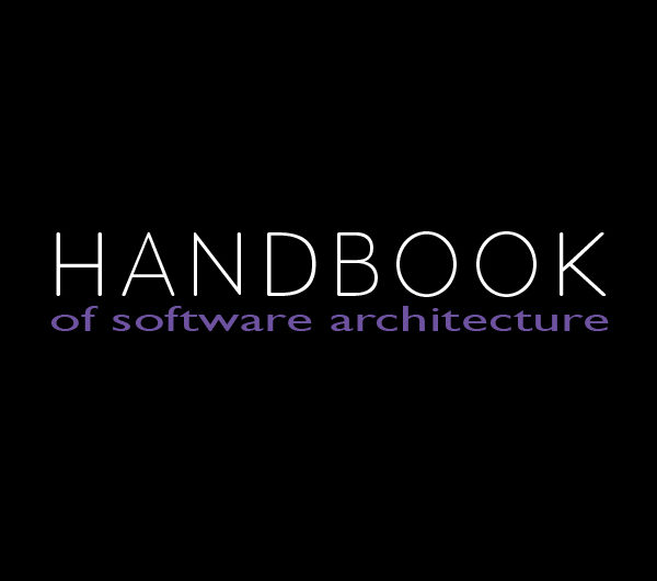 <p>Handbook of Software Architecture (Header Image #1)</p>