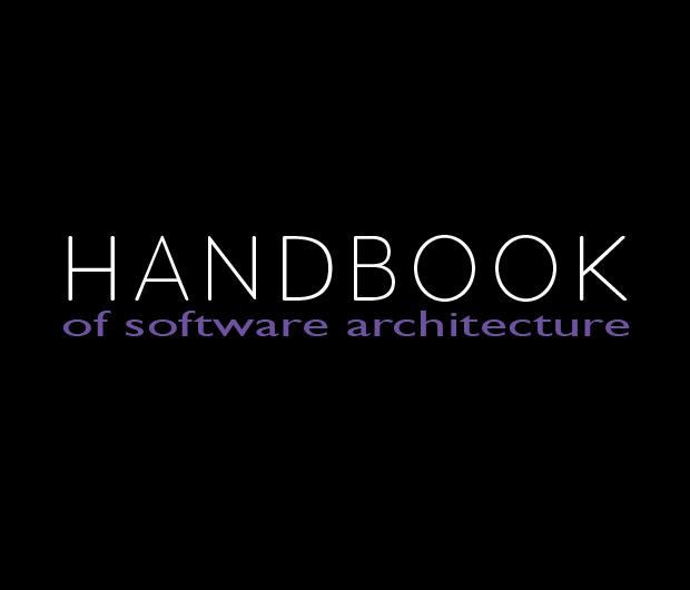 <p>Handbook of Software Architecture (Header Image #1)</p>